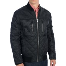 Marc New York by Andrew Marc Force Jacket - Quilted (For Men) in Black - Closeouts