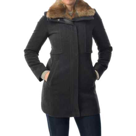 Marc New York by Andrew Marc Haven Walker Coat (For Women) in Charcoal - Closeouts