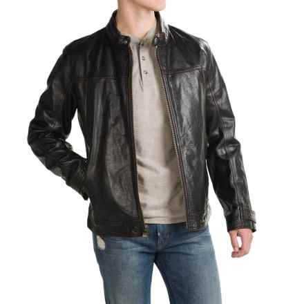 Marc New York by Andrew Marc Hudson Jacket - Leather (For Men) in Black - Closeouts