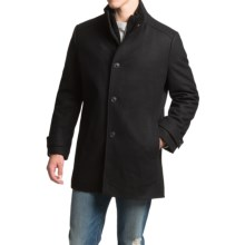 Marc New York by Andrew Marc Jeff Coat - Wool (For Men) in Black - Closeouts