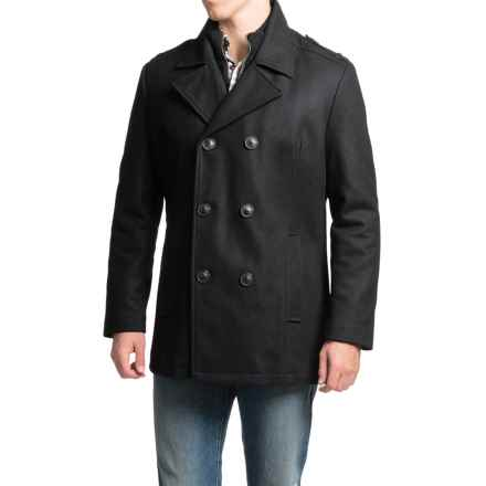 Marc New York by Andrew Marc Joshua Coat - Wool (For Men) in Black - Closeouts