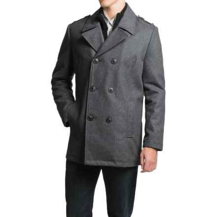 Marc New York by Andrew Marc Joshua Coat - Wool (For Men) in Charcoal - Closeouts