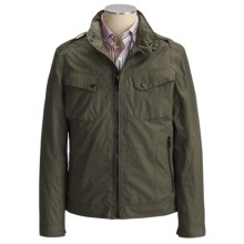 Marc New York by Andrew Marc Justin Motocross Jacket (For Men) in Army Green - Closeouts