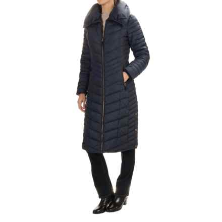 Marc New York by Andrew Marc Karen Down Coat (For Women) in Denim - Closeouts