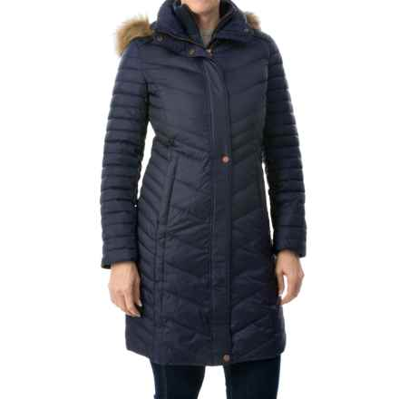 Marc New York by Andrew Marc Karla Down Coat (For Women) in Denim - Closeouts