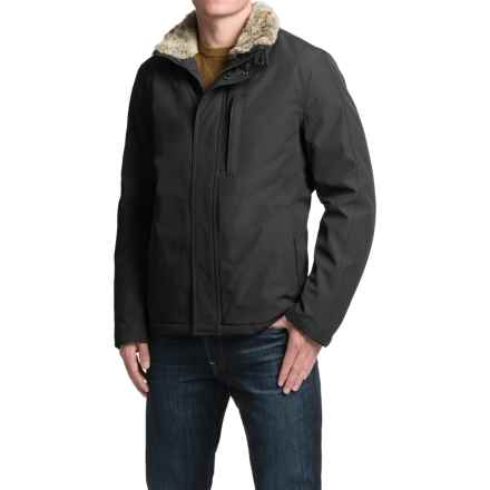 Marc New York by Andrew Marc Kips Bay Jacket - Insulated, Faux-Fur Collar (For Men) in Black - Closeouts