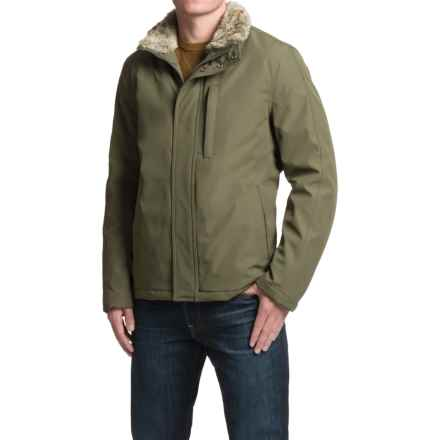 Marc New York by Andrew Marc Kips Bay Jacket - Insulated, Faux-Fur Collar (For Men) in Olive - Closeouts