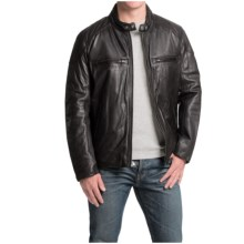 Marc New York by Andrew Marc Mac Moto Jacket - Leather (For Men) in Black - Closeouts