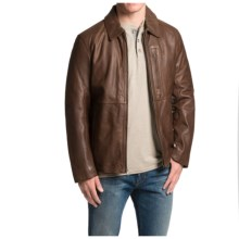 Marc New York by Andrew Marc MacDougal Jacket - Leather (For Men) in Mahogany - Closeouts