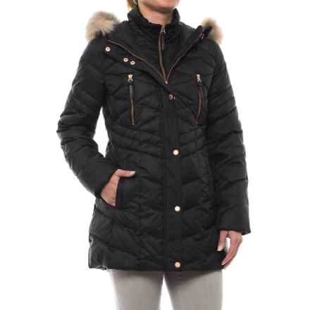 Marc New York by Andrew Marc Marley Down Coat (For Women) in Black - Closeouts
