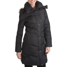 Marc New York by Andrew Marc Matte Mercy Coat - Ultralight Down (For Women) in Black - Closeouts