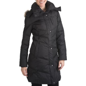 Marc New York by Andrew Marc Matte Mercy Coat - Ultralight Down (For Women) in Black