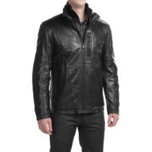 Marc New York by Andrew Marc Mercer Jacket - Leather (For Men) in Black - Closeouts