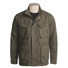 Marc New York by Andrew Marc Military Jacket - Edison (For Men) in Olive - Closeouts