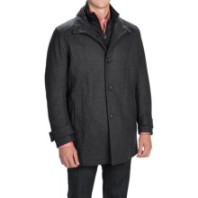 Marc New York by Andrew Marc Morningside Coat - Wool Blend, Quilted Bib (For Men) in Charcoal - Closeouts