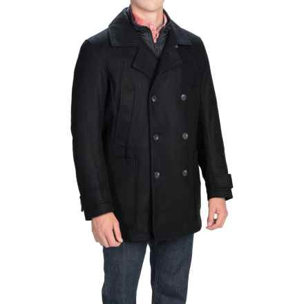 Marc New York by Andrew Marc Mulberry Coat - Melton Wool Blend, Insulated (For Men) in Ink - Closeouts