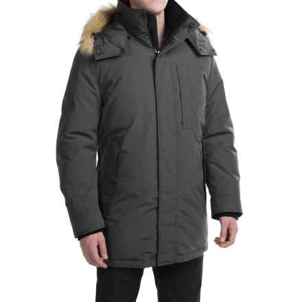 Marc New York by Andrew Marc Niagra Down Parka (For Men) in Steel - Closeouts