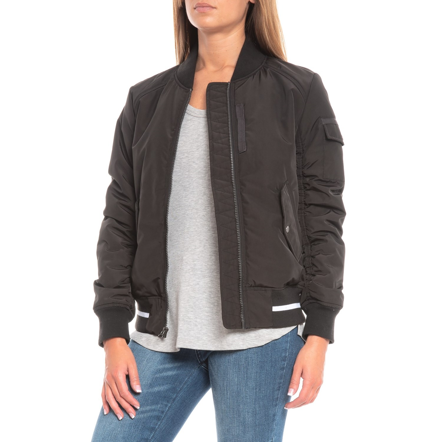 Marc New York By Andrew Marc Nicole Reversible Bomber Jacket For