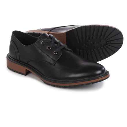 Marc New York by Andrew Marc Pike Oxford Shoes (For Men) in Black/Cymbal - Closeouts