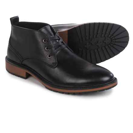 Marc New York by Andrew Marc Ridge Chukka Boots (For Men) in Black/Cymbal - Closeouts