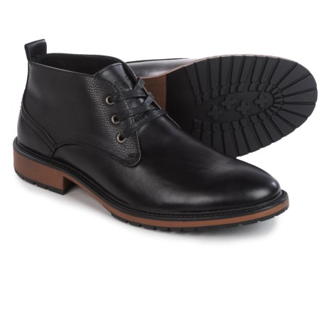 Marc New York by Andrew Marc Ridge Chukka Boots (For Men) in Black/Cymbal