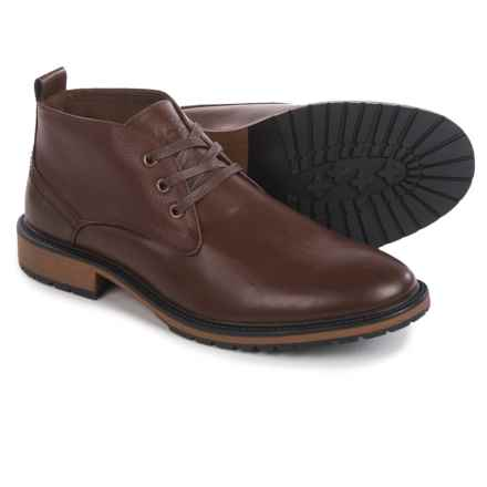 Marc New York by Andrew Marc Ridge Chukka Boots (For Men) in Oxblood/Cymbal - Closeouts