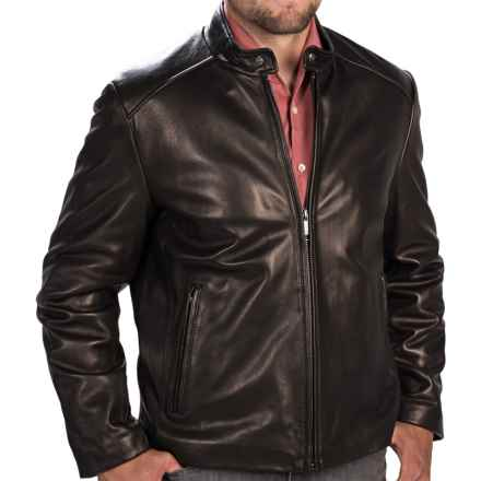 Marc New York by Andrew Marc Sam Leather Jacket (For Men) in Black - Closeouts