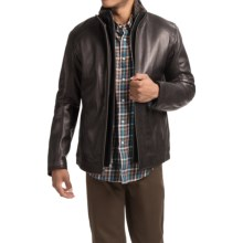 Marc New York by Andrew Marc Shelby Jacket - Leather, Insulated (For Men) in Black - Closeouts