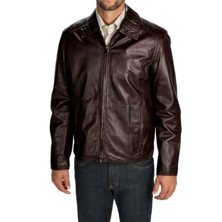 Marc New York by Andrew Marc Sherman Leather Jacket (For Men) in Brown - Closeouts