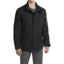 Marc New York by Andrew Marc Trevor Coat - Wool (For Men) in Black - Closeouts