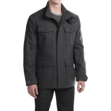 Marc New York by Andrew Marc Trevor Coat - Wool (For Men) in Charcoal - Closeouts