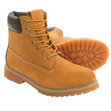 Marc New York by Andrew Marc Upshaw Boots - Nubuck (For Men) in Wheat/Cream/Bark/Gum - Closeouts