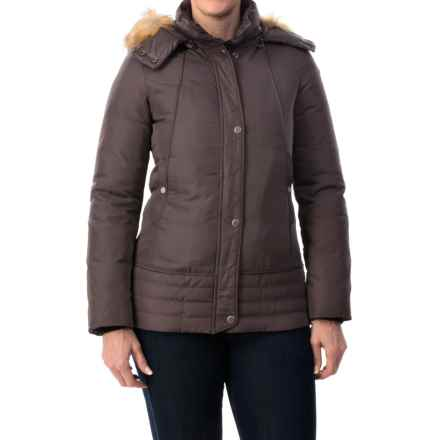 Marc New York by Andrew Marc Utility Down Jacket (For Women) in Amethyst - Closeouts