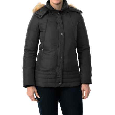 Marc New York by Andrew Marc Utility Down Jacket (For Women) in Black - Closeouts