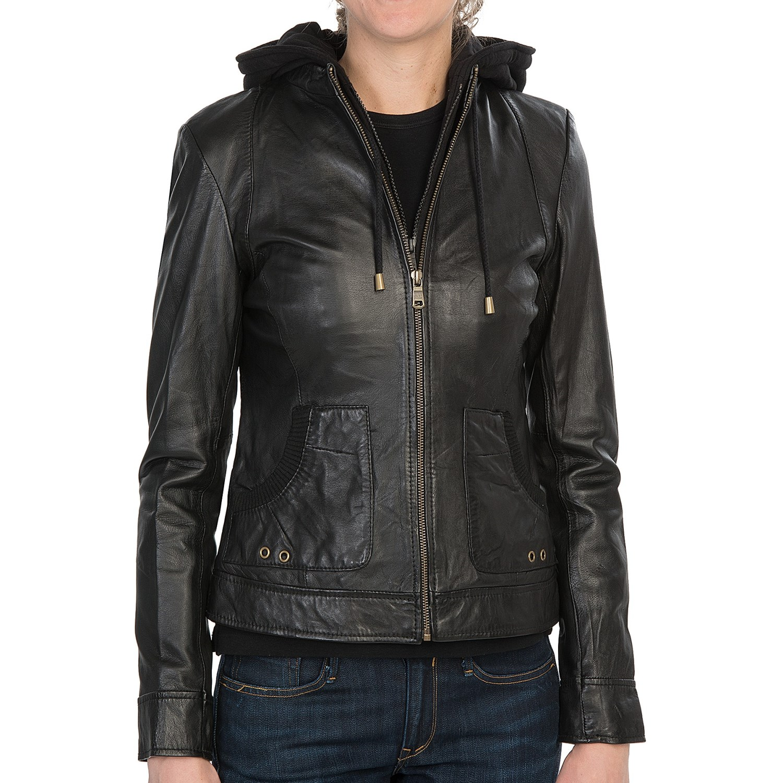 Mark new york leather jacket