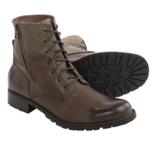 Marc New York by Andrew Marc Vesey Boots (For Men) in Dark Brown/Wood Brown - Closeouts