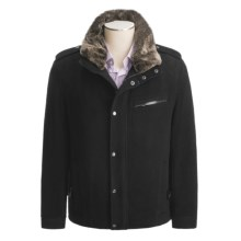 Marc New York by Andrew Marc Warner Jacket - Plush Wool (For Men) in Black - Closeouts