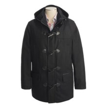 Marc New York by Andrew Marc Wool Duffle Coat - Insulated (For Men) in Black - Closeouts
