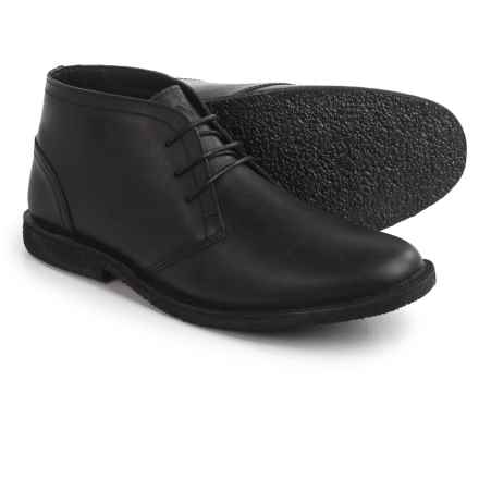 Marc New York byAndrew Marc Walden Chukka Boots - Leather (For Men) in Jet Black - Closeouts