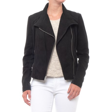 Marc New York Laney Suede Jacket (For Women) in Black