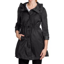 Marc New York Lindsey Light Rain Coat (For Women) in Black - Closeouts