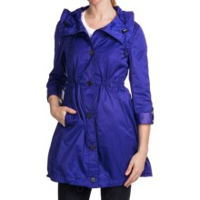 Marc New York Lindsey Light Rain Coat (For Women) in Indigo - Closeouts