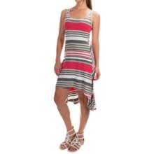 Marc New York Performance Tank Dress - Cotton-Modal, Sleeveless (For Women) in Dragonfruit Combo - Overstock