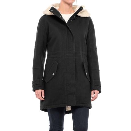 Marc New York Rachelle Wool Coat (For Women) in Black