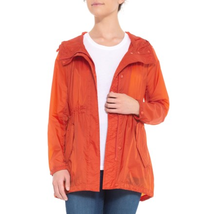 Marc New York Teri Rain Jacket (For Women) in Orange - Closeouts b8a2f6044