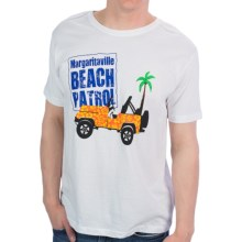 Margaritaville Graphic T-Shirt - Short Sleeve (For Men) in Beach Patrol White - Closeouts