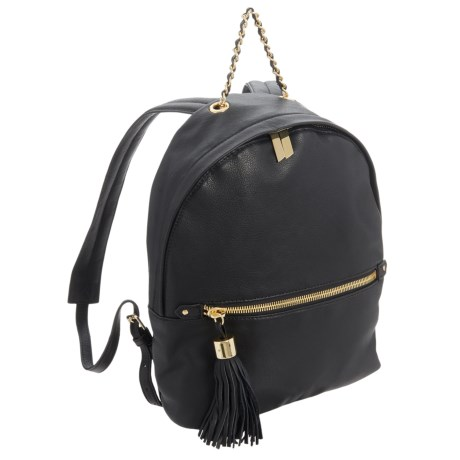 Margot Leather Mini Backpack with Tassel (For Women)