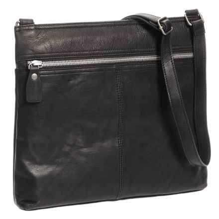 Margot Lorna Hobo Bag Leather For Women In Black Closeouts