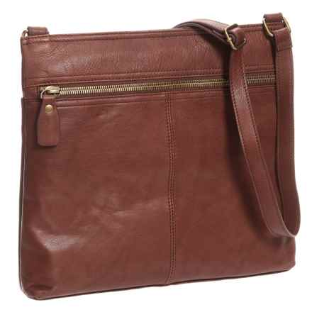 Margot Lorna Hobo Bag - Leather (For Women) in Brandy - Closeouts
