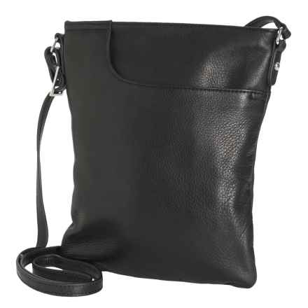 Margot Radley Leather Purse - Crossbody (For Women) in Black - Closeouts